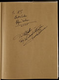 Olympic Collectibles:Autographs, 1967 The Wonderful World of Sport Signed by Jesse Owens & ByronNelson. ...