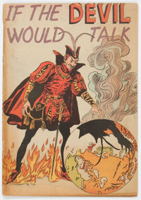 If the Devil Would Talk #nn (Impact, 1950) Condition: GD/VG