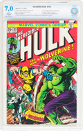 Bronze Age (1970-1979):Superhero, The Incredible Hulk #181 (Marvel, 1974) CBCS Restored FN/VF 7.0Slight (A) White pages....