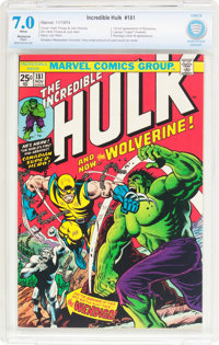 The Incredible Hulk #181 (Marvel, 1974) CBCS Restored FN/VF 7.0 Slight (A) White pages