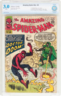 Silver Age (1956-1969):Superhero, The Amazing Spider-Man #5 (Marvel, 1963) CBCS GD/VG 3.0 White pages....