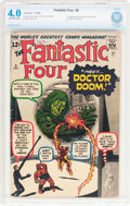 Silver Age (1956-1969):Superhero, Fantastic Four #5 (Marvel, 1962) CBCS VG 4.0 Off-white to white pages....