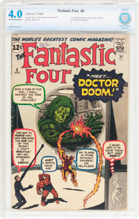 Fantastic Four #5 (Marvel, 1962) CBCS VG 4.0 Off-white to white pages
