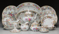 Ceramics & Porcelain, A Sixty-Piece Assembled Dresden Porcelain Dinner Service for Eight, late 19th/20th century. Marks: Bavaria (lion rampant... (Total: 60 Items)
