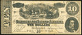 Confederate Notes:1864 Issues, Facsimile T68 $10 1864 Rochester, NY- Bassett's Horehound Troches Advertising Note ND.. ...