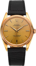 Timepieces:Wristwatch, Rolex Ref. 1005 Vintage 18k Gold Oyster Perpetual, circa 1960's....