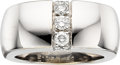 Estate Jewelry:Rings, Diamond, White Gold Ring, Mauboussin. ...
