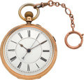 Timepieces:Pocket (pre 1900) , J. Richardson Coventry Large 18k Gold Center Seconds Pocket Watch,circa 1880. ...