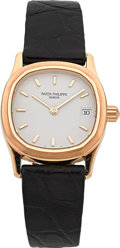 Timepieces:Wristwatch, Patek Philippe Ref. 4701 Lady's Gold Wristwatch. ...