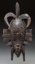 Tribal Art, SENUFO, Ivory Coast, Burkina Faso, Mali. Kpelie Mask...