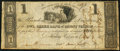 Obsoletes By State:Ohio, Mount Vernon, OH- Owl Creek Bank of Mount Vernon $1 Oct. 3, 1816....
