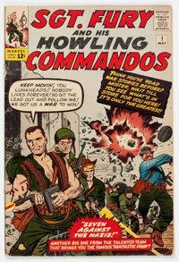 Sgt. Fury and His Howling Commandos #1 (Marvel, 1963) Condition: GD