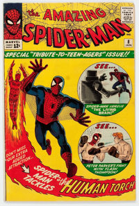 The Amazing Spider-Man #8 (Marvel, 1964) Condition: VG