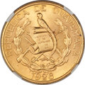 Guatemala: Pair of Two Certified Republic Gold Coins 1926-(P),... (Total: 2 coins)