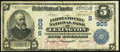 National Bank Notes:Kentucky, Lexington, KY - $5 1902 Plain Back Fr. 604 The First & City NBCh. # (S)906. ...