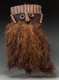Tribal Art, KUBA/BINJI, Democratic Republic of Congo. Dance Mask...