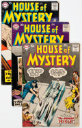 Silver Age (1956-1969):Horror, House of Mystery Group of 12 (DC, 1958-60) Condition: AverageVG-.... (Total: 12 Comic Books)