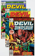 Bronze Age (1970-1979):Miscellaneous, Devil Dinosaur Group of 22 (Marvel, 1978) Condition: AverageNM-.... (Total: 22 Comic Books)