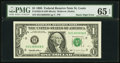 Error Notes:Miscellaneous Errors, Fr. 1922-H $1 1995 Federal Reserve Note. PMG Gem Uncirculated 65 EPQ.. ...