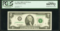 Error Notes:Shifted Third Printing, Fr. 1938-A $2 2003A Federal Reserve Note. PCGS Gem New 66PPQ.. ...