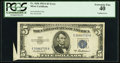 Error Notes:Attached Tabs, Fr. 1656 $5 1953A Silver Certificate. PCGS Extremely Fine 40.. ...
