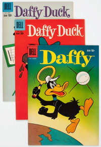 Daffy Duck File Copies Group of 25 (Dell, 1955-74) Condition: Average VF/NM.... (Total: 25 Comic Books)