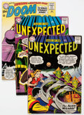 Silver Age (1956-1969):Horror, Tales of the Unexpected Group of 7 (DC, 1959-67) Condition: AverageFN.... (Total: 7 Comic Books)