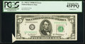 Error Notes:Attached Tabs, Fr. 1963-G $5 1950B Federal Reserve Note. PCGS Extremely Fine45PPQ.. ...