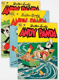 Andy Panda Group of 28 (Dell, 1949-61) Condition: Average VG.... (Total: 28 Comic Books)