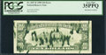 Error Notes:Ink Smears, Fr. 2027-E $10 1985 Federal Reserve Note. PCGS Very Fine 35PPQ.....