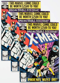 X-Men #137 Group of 16 (Marvel, 1980) Condition: Average VF/NM.... (Total: 16 Comic Books)