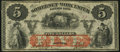 Obsoletes By State:Maryland, Salisbury, MD- Somerset and Worcester Savings Bank $5 Nov. 1, 1864/2. ...