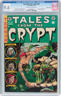 Golden Age (1938-1955):Horror, Tales From the Crypt #40 Gaines File Pedigree 4/12 (EC, 1954) CGCNM+ 9.6 Off-white to white pages....