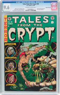 Tales From the Crypt #40 Gaines File Pedigree 4/12 (EC, 1954) CGC NM+ 9.6 Off-white to white pages