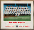 Baseball Collectibles:Others, 1954 New York Yankees Advertising Team Photograph. ...