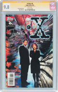 Modern Age (1980-Present):Science Fiction, The X-Files #6 Signature Series (Topps Comics, 1995) CGC NM/MT 9.8White pages....