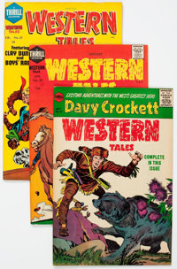 Witches' Western Tales #29-31 File Copies Group (Harvey, 1955) Condition: Average VF+.... (Total: 6 Comic Books)