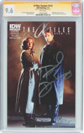 Modern Age (1980-Present):Science Fiction, The X-Files: Season 10 #2 Signature Series (IDW Publishing, 2013)CGC NM+ 9.6 White pages....
