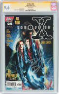 Modern Age (1980-Present):Science Fiction, The X-Files #25 Signature Series (Topps Comics, 1997) CGC NM+ 9.6 White pages....