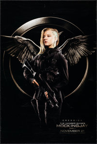 """The Hunger Games: Mockingjay - Part 1 & Others Lot (Lions Gate, 2014). One Sheets (3) (27"""" X 01"""") DS Advan..."""