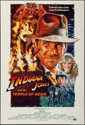 "Movie Posters:Adventure, Indiana Jones and the Temple of Doom (Paramount, 1984). One Sheet (27"" X 40"") Style B. Adventure.. ..."