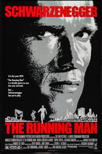 "The Running Man & Other Lot (Tri-Star, 1987). One Sheets (2) (27"" X 41"", 26.75"" x 39.75"") SS..."