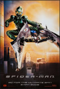 "Movie Posters:Action, Spider-Man (Columbia, 2002). International One Sheet (26.75"" X39.5"") DS Teaser Green Goblin Style. Action.. ..."