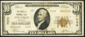 National Bank Notes:Kentucky, Pikeville, KY - $10 1929 Ty. 2 The Pikeville NB Ch. # 7030. ...