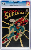 Golden Age (1938-1955):Superhero, Superman #32 (DC, 1945) CGC NM- 9.2 Off-white to white pages....