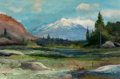 Paintings, Robert William Wood (American, 1889-1979). High Sierra. Oil on canvas. 24 x 36 inches (61.0 x 91.4 cm). Signed lower lef...