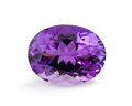 Gems:Faceted, Gemstone: Amethyst - 22.92 Ct.. Brazil. 21.2 x 16.3 x 12.1mm. ...