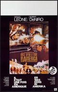 "Movie Posters:Crime, Once Upon a Time in America (Elan Films, 1984). Belgian (13.5"" X 21.5""). Crime.. ..."
