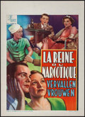 "Movie Posters:Exploitation, Marihuana (Luxor FIlms, 1940). Pre-War Belgian (11.5"" X 16"").Exploitation.. ..."