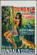 "Movie Posters:Adventure, Virgin of the Jungle & Other Lot (Cosmopolis Films, 1967).Belgians (2) (14.25"" X 21.25""). Adventure.. ... (Total: 2 Items)"